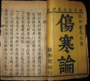 Shāng Hán Lùn or Treatise on Damage By Cold (www.china.org.cn)